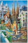 Puzzles Gaudí Picasso Dalí